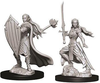 D&D Nolzurs Marvelous Miniatures: Female Elf Paladin