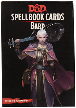 Dungeons & Dragons -  Spellbook Cards - Bard (128 Cards)