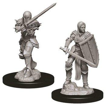 D&D Nolzurs Marvelous Miniatures: Female Human Fighter