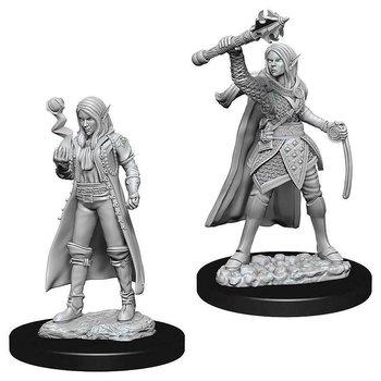 D&D Nolzurs Marvelous Miniatures: Female Elf Cleric