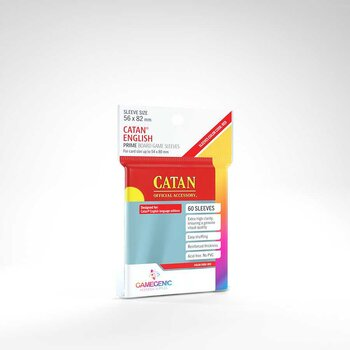 "Gamegenic Card Sleeves ""Catan"" 56 x 82mm - Clear (60)"