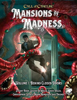 Mansions of Madness: Vol 1 - Behind Closed Doors - Hardcover + PDF