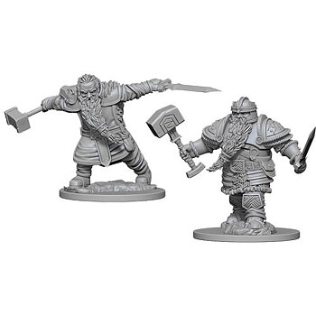 D&D Nolzurs Marvelous Minis: Dwarf Male Fighter