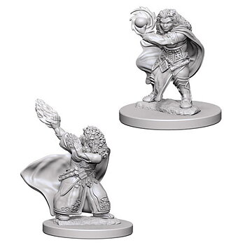 D&D Nolzurs Marvelous Minis: Dwarf Female Wizard