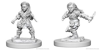 D&D Nolzurs Marvelous Minis: Halfling Female Rogue