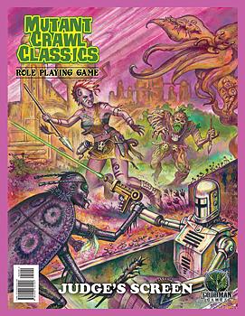 Mutant Crawl Classics #0: Judges Screen