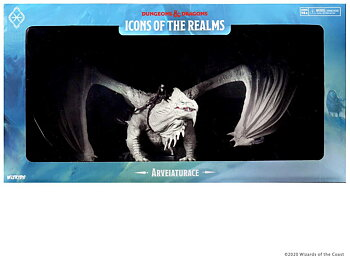 D&D Icons of the Realms Premium Figure: Icewind Dale - Arveiaturace Dragon