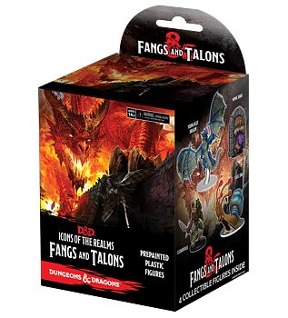 Icons of the Realms: Fangs and Talons Booster Pack