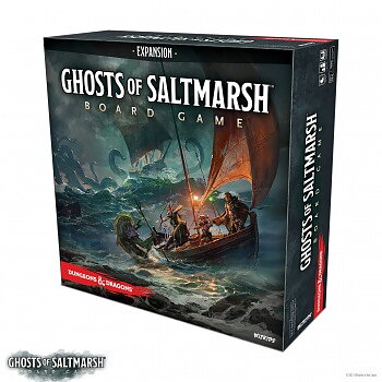 Dungeons & Dragons: Ghosts of Saltmarsh Adventure System Board Game (Standard Edition)