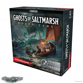 Dungeons & Dragons: Ghosts of Saltmarsh Adventure System Board Game (Premium Edition)