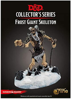 D&D: Icewind Dale: Rime of the Frostmaiden - Frost Giant Skeleton