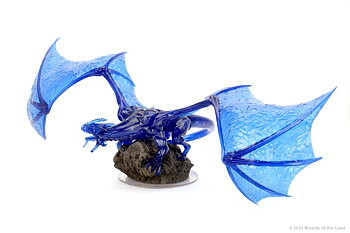 D&D Icons of the Realm Premium Figure: Sapphire Dragon