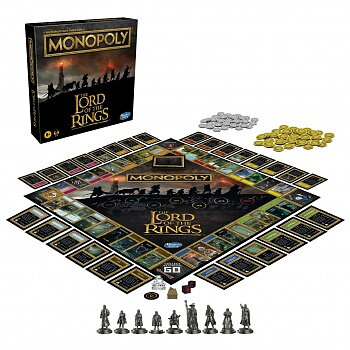 Hasbro Monopoly: The Lord of the Rings Edition