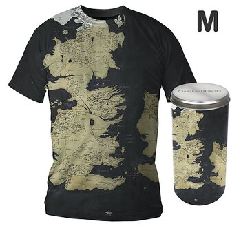 Game of Thrones T-shirt - Map (Medium)