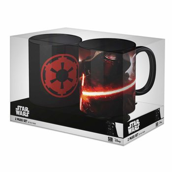 Star Wars: Imperial Logo and Kylo Ren with St. Mug Set