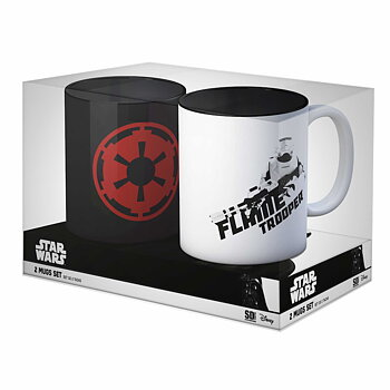Star Wars: Imperial Logo and Flametrooper Mug Set