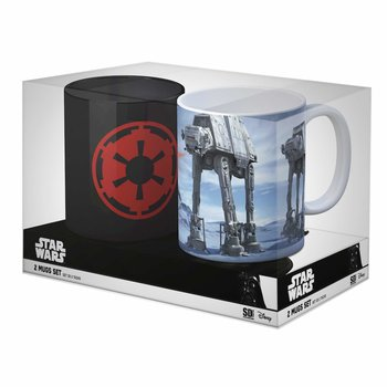 Star Wars: Imperial Logo and Battle of Hoth Mug Set