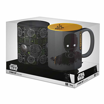 Star Wars: Death Star and K-2SO Mug Set