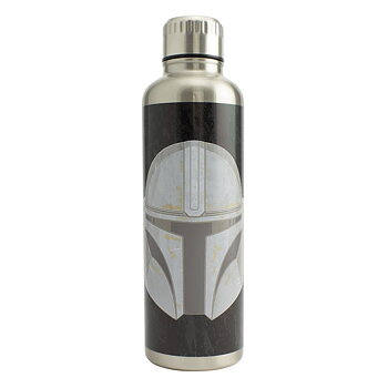 Star Wars: The Mandalorian - Mandalorian Metal Water Bottle