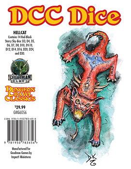 Dungeon Crawl Classics: Hellcat Dice