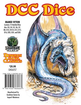Dungeon Crawl Classics: Maned Wyrm Dice