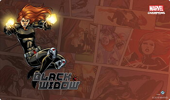 Marvel Champions: Black Widow Game Mat