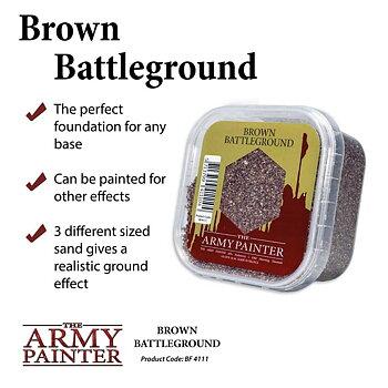 Army Painter Battlefield Brown Battleground
