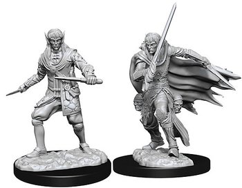 Pathfinder Battles Deep Cuts Minis: Male Elf Rogue