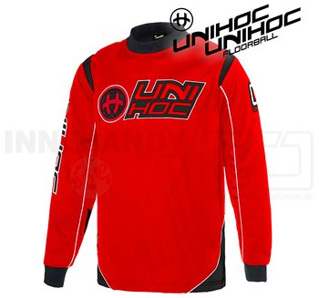 Unihoc Optima Goalie Jersey Black/Red