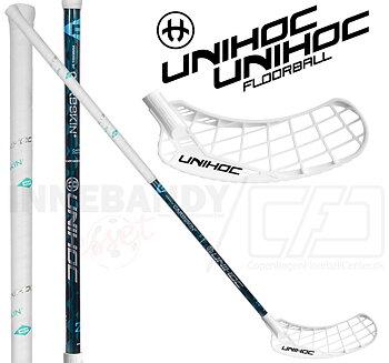 UNIHOC Epic Carbskin 26 Ice Turquoise