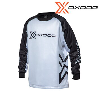 Oxdog X-Guard Goalie Shirt SR - black/white