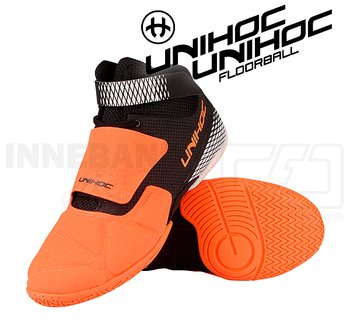 Unihoc U4 Goalie orange / black