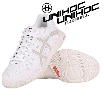 Unihoc U3 Elite Women white/grey