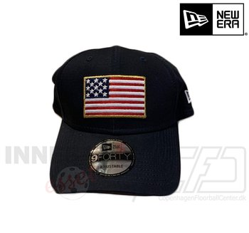 New Era American Flag 9forty navyblue
