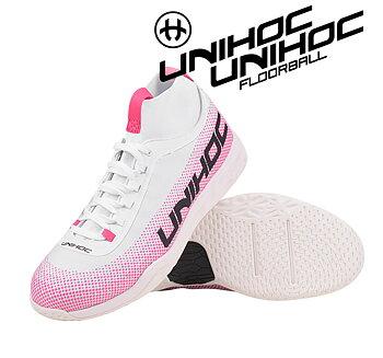 Unihoc U5 Pro MidCut Women white (Beställningsvara)