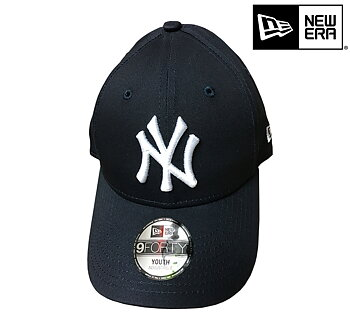 New Era New York Yankees Youth 9forty MLB basic navy white