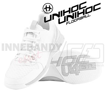 Unihoc U4 PLUS LowCut Women white/grey