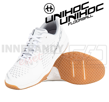 Unihoc U5 Pro LowCut Men white / silver