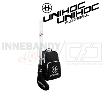 Unihoc Stick Backpack Tactic black / white