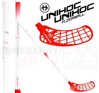 UNIHOC Iconic Superskin MID 30 white/red