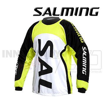 Salming Cross Goalie Jersey - Neongul