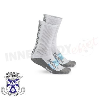 Gårdarike IBK - Salming Advanced Indoor Socks Short - White