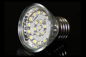 LED Spotlight SMD3528 E27 Varmvit