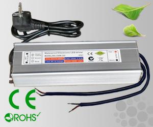 Leddriver/Nätdel 230VAC/12VDC 150W IP67
