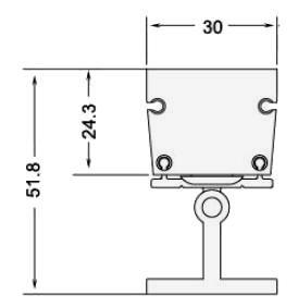 Led SMD Mini Wallwasher 9W RGB