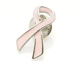 Rosa bandet pin