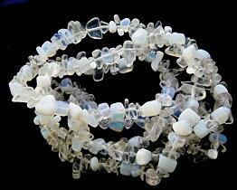 Sea opal chips