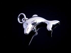 Hänge delfin i sterling silver
