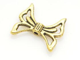Fjäril antik guldfärg