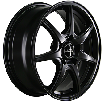"16"" INTER ACTION Black Ice - Dull Black"